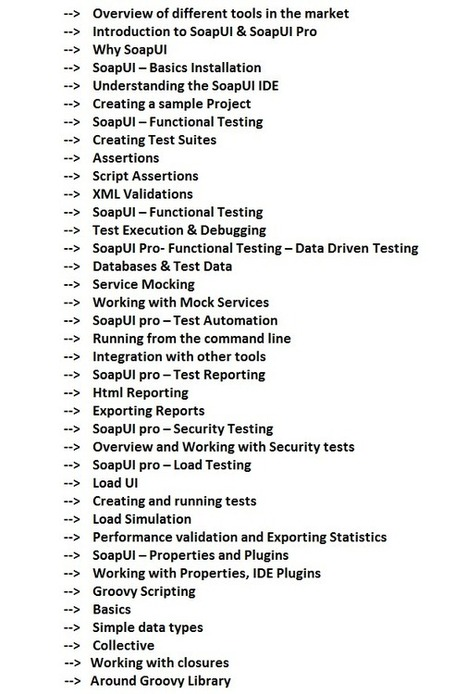 SoapUI Testing Online Training | Web Services Testing Online Training | Qa Testing Training | Scoop.it