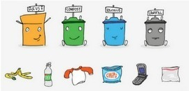 Garbology: Easy Way to Teach Students about Recycling | Go Green and help the Planet! | Scoop.it