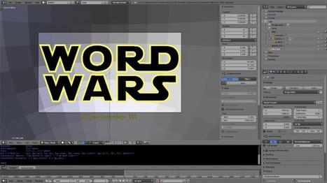 "Making of ""Word Wars- News from the Empire""   a project by Julien Deswaef (aka xuv) #mediaart #netart   Digital #MediaArt(s) Numérique(s)   Scoop.it"