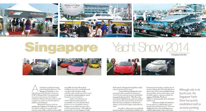 Singapore Yacht Show 2014 - The Asia's largest yachting, boating and luxury lifestyle event