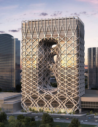 Zaha Hadid unveils sculptural hotel for casino resort in Macau | Form, Structure & Complex Geometry Innovations | Scoop.it