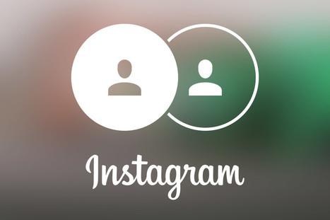 Gestion multi-comptes sur Instagram : un petit tour et puis s'en va ? | des outils et du web | Scoop.it