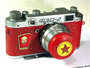 1956 antique Red Star FED-2 camera rare RUSSIAN LEICA Red-Lenin  -from RussianVintage | Antiques & Vintage Collectibles | Scoop.it