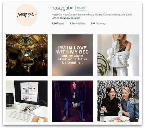 6 companies that kill it on Instagram | The Perfect Storm Team Mobile | Scoop.it