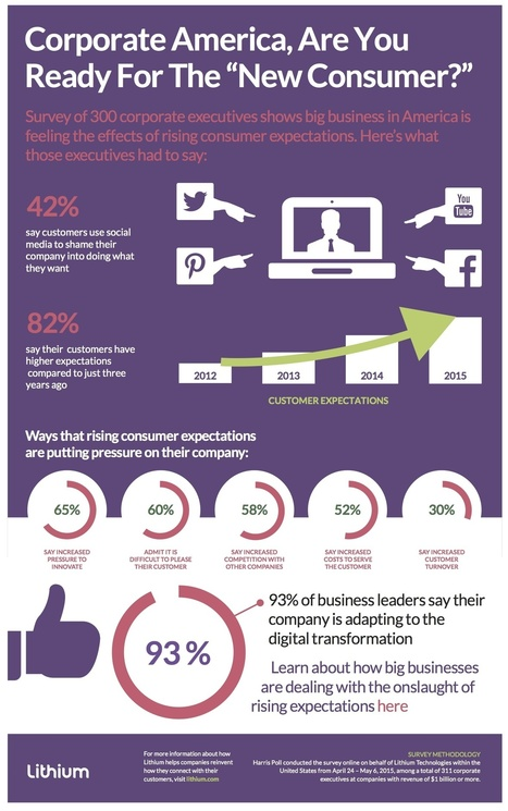 Survey: 42 Percent of Business Leaders Say Consumers Shame Them on Social | Business in a Social Media World | Scoop.it