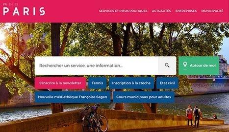 Design & graphisme par Geoffrey Dorne » Découverte & analyse du nouveau site de Paris ! | Webmaster-cms | Scoop.it