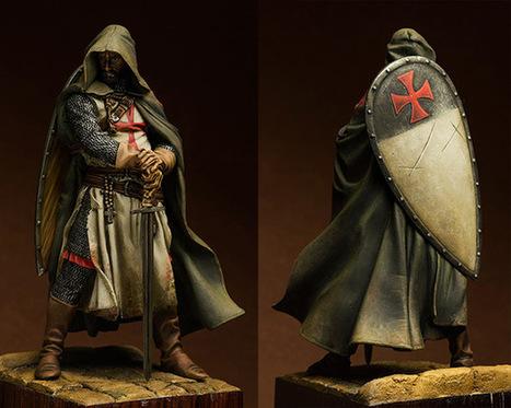 Templars sergeant, XIII cent. | Military Miniatures H.Q. | Scoop.it