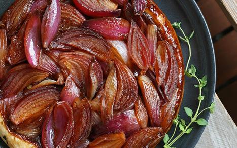 Red Onion Tarte Tatin [Vegan] | Decadent Dessert Recipes | Scoop.it