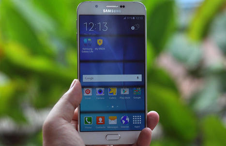 Samsung's Galaxy A8 is the company's slimmest yet via @Zinkapp | Samsung mobile | Scoop.it