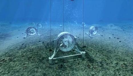 Les courants marins, énergie de demain | Biomimétisme-Economie Circulaire-Société | Scoop.it
