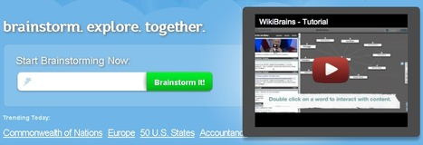 wikibrains - brainstorm. explore. together. | Teaching in the XXI Century | Scoop.it