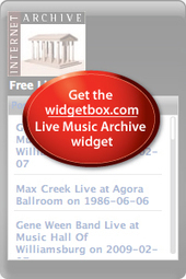 Free Music : Download & Streaming : Live Music Archive : Internet Archive | Music, Theatre, and Dance | Scoop.it
