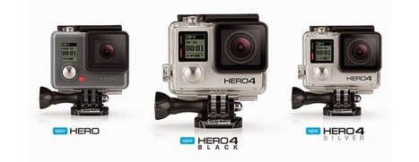 New GoPro Hero 4 Specs Revealed | TechandFacts.com | Tech and Facts | Scoop.it