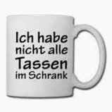 deutschMe: What do Germans mean when they say that somebody doesn't have all cups in the cupboard :) | German learning resources and ideas | Scoop.it