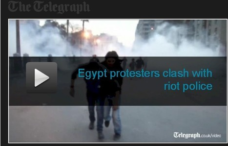 Egypt: Violence in Tahrir Square on anniversary of Mubarak's fall | Égypt-actus | Scoop.it