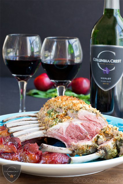 Rack of Lamb with Mint and Basil Pesto Crust | Wine | Scoop.it