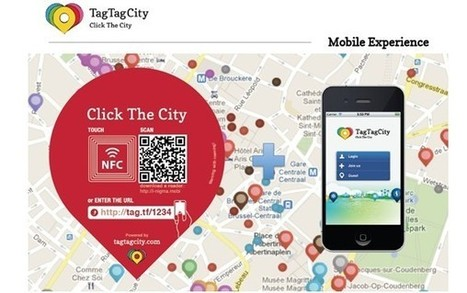 NFC in de praktijk (1/4): Digitaal visitekaartje - TagTagCity | What they said about us... :-) | Scoop.it