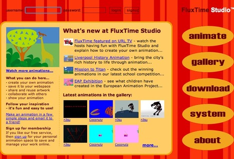 Animation for kids - Create animation online with FluxTime Studio | networked media | Scoop.it