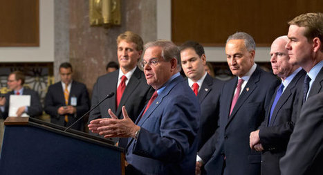 Gang of Eight plots path to Senate supermajority - Carrie Budoff Brown | LESS TRAVELED | Scoop.it