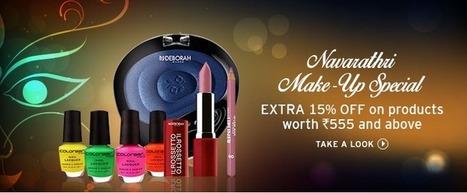 Navratri Make-Up Special. Extra 15% Off | DribblingMan | Scoop.it