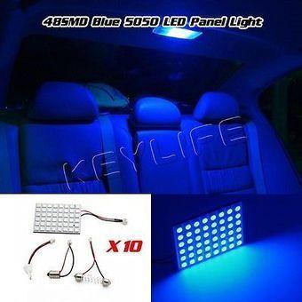 Top Promotions Today - 10 PCS 5050 Led Light Panel Blue Car T10 BA9S Festoon Dome Bulb Adapter | Edge lighting | Scoop.it