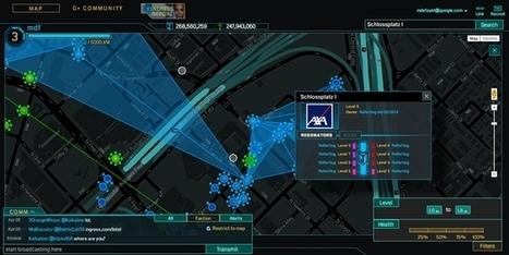 Axa place ses agences dans le jeu vidéo Ingress | Assurance des personnes et des biens | Scoop.it