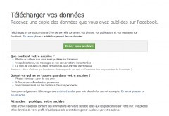 Sauvegarder ses données Facebook | Internet world | Scoop.it