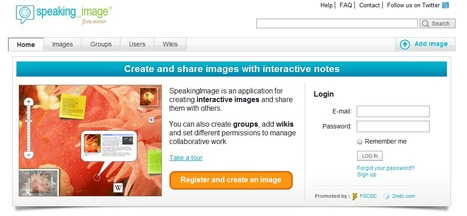 Collaborative annotation of images online | SpeakingImage | Time to Learn | Scoop.it