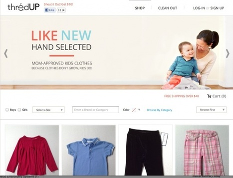 With $14.5M, second-hand kids' clothing site thredUP looks to new ... | The Family Scoop | Scoop.it