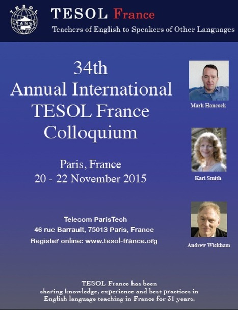 Colloquium 2015 | TESOL France | TELT | Scoop.it