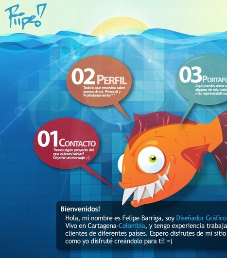 Imaginary Use of Illustrations in Web Design | | Basics and principles for a good  Web Design | Scoop.it
