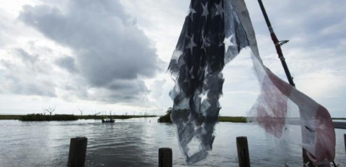 Une île de Louisiane disparaît, grignotée par l'érosion | Iles | Scoop.it