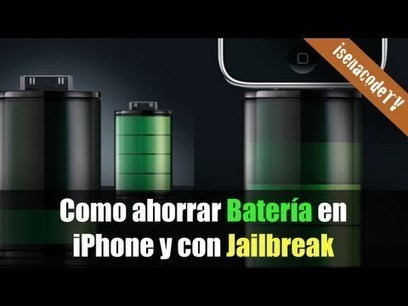 ? Como ahorrar batería con Jailbreak (iPhone) | IPhone Unlockers | Scoop.it