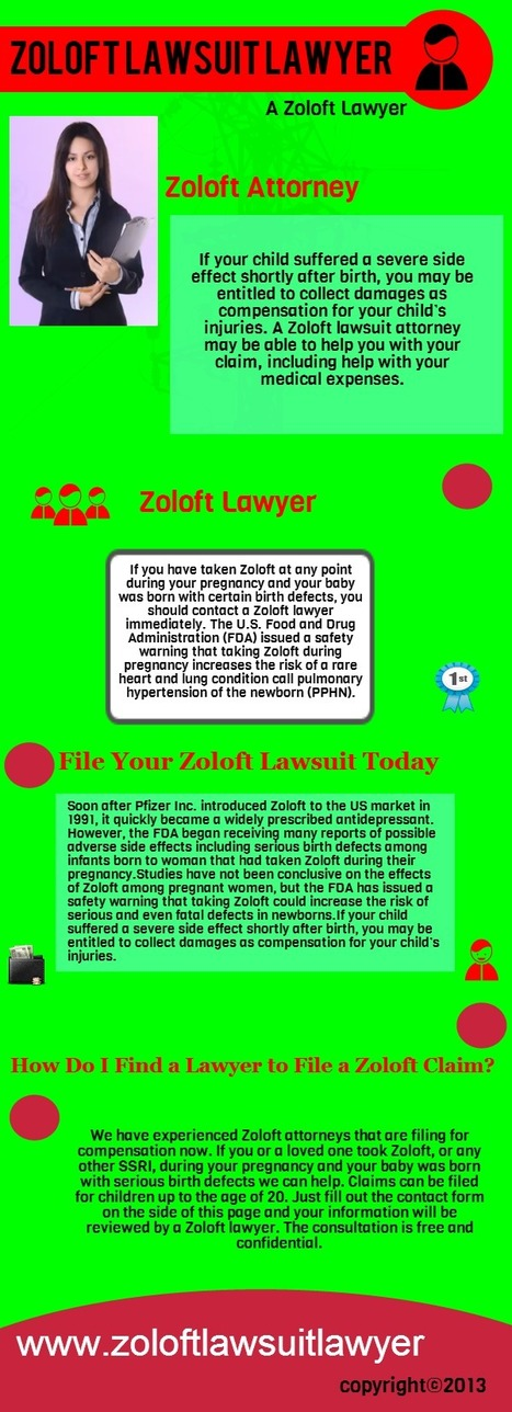 Zoloft lawsuit | Zoloft lawsuit | Scoop.it
