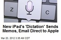 New iPad's 'Dictation' Sends Memos, Email Direct to Apple | It's Show Prep for Radio | Scoop.it