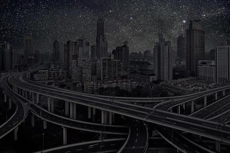 What Cities Would Look Like Without Any Lights - Imgur | Inspiration | Scoop.it