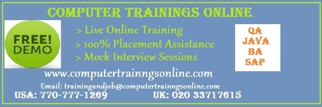 BA Online Training and Placement Assistance | BA Training In USA | Business Analysis (BA) Online Training | Scoop.it
