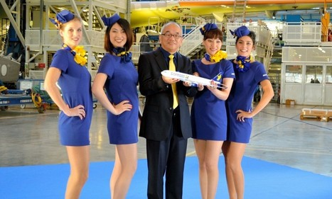 Japanese airline Skymark's new stewardess uniform 'invitation to sexual ... - Daily Mail   Year 8 - Japan   Scoop.it