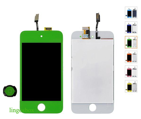 New Genuine Dark Blue iPod Touch 4G LCD+Touch Screen Digitizer Assembly+Home Bottom | hot deals on lingosbox | Scoop.it