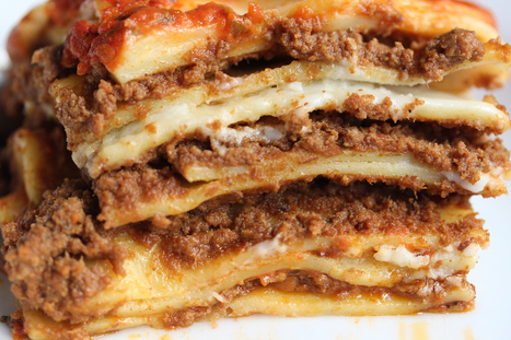 The Only Italian Lasagna Recipe You'll Ever Need | Italia Mia | Scoop.it