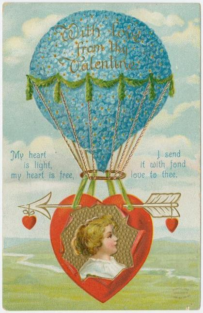 Vintage Valentine's Day Postcards from the Early 1900s | D_sign | Scoop.it