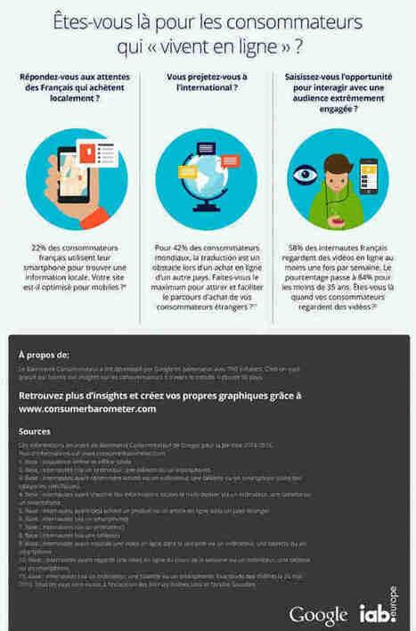 Baromètre des consommateurs Google - iab [Infographie] | Campagnes web | Scoop.it