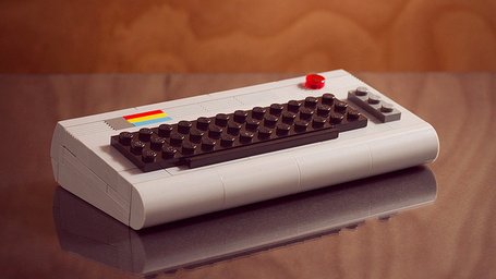 A Near Perfect Lego Recreation of the Commodore 64 | All Geeks | Scoop.it