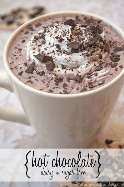 Homemade Hot Chocolate - Dairy and Sugar Free | Truly Healthy Recipes | Scoop.it