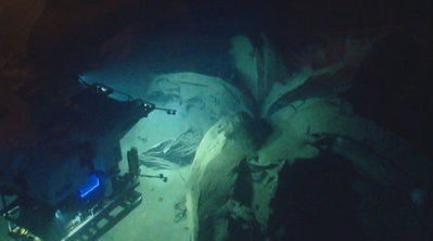 Shipwreck search yields surprise discovery: Underwater volcano of asphalt - KHOU | Undersea Exploration | Scoop.it
