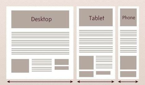 An Introduction to Responsive Web Design | Webdesign & learning management systems | Scoop.it