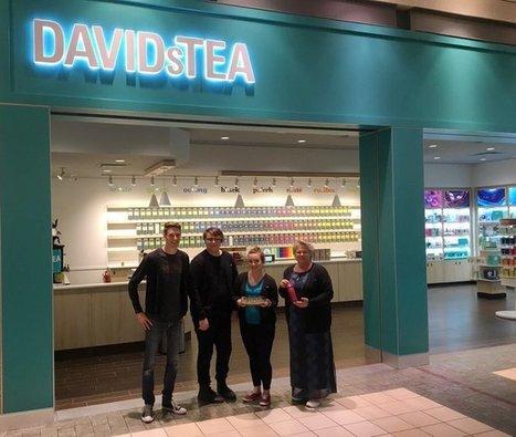 Tweet from @DAVIDsTEA | Bedford, NS | Scoop.it