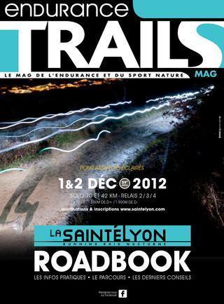 Roadbook SaintéLyon 2012 | Le Scoop it de la Course à Pied | Scoop.it