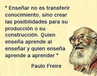 PAULO FREIRE   Educación y más...   Scoop.it