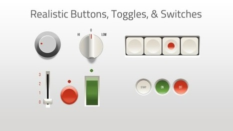 PowerPoint '13: Realistic Buttons, Toggles, & Switches -  E-Learning Heroes | PPT Best Practices & Tips | Scoop.it